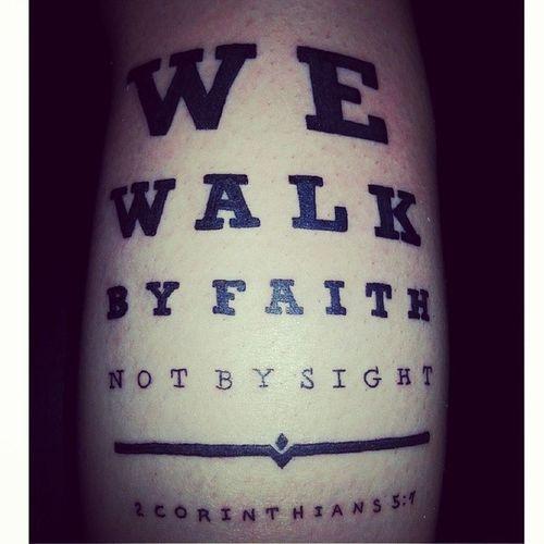 Tattoos Calftat Corinthians Wewalkbyfaith