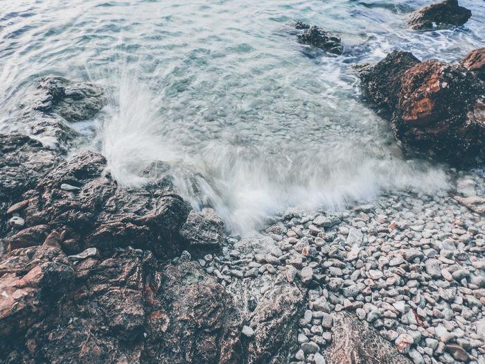 Wave long exposure