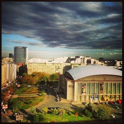 Bucureşti Bucharest Romania How's The Weather Today? Sala Palatului Clouds And Sky Clouds Cloudporn Storm