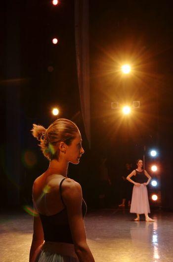 Dance Floor Rehearsal Classical Music Classical Concert Classical Musician Dance Studio Actress Tutu Musical Conductor