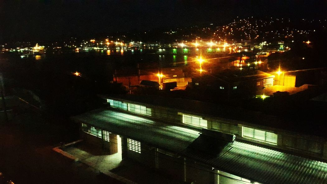 As the city sleeps... Castries Saintlucia Caribbean Citiesatnight Cities At Night