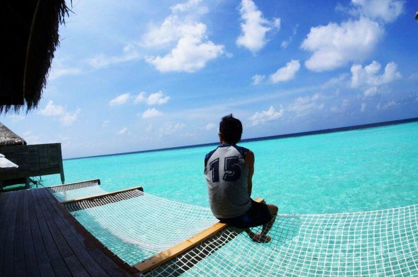 Maldives Maldivesphotography Travel Photography Blue Sky Blue Lagoon Overwater Anantara That's Me Enjoying Life Blessedandthankful BlessedBeyondMeasure Godscreation God Is Great. Enjoying The Sun Amazing View Maldives Resorts Relaxing Moments