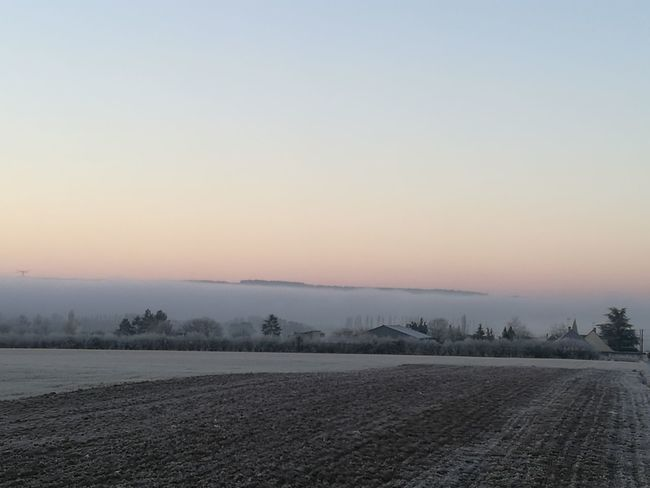 Nature Vallee De La Somme Brouillard Matin