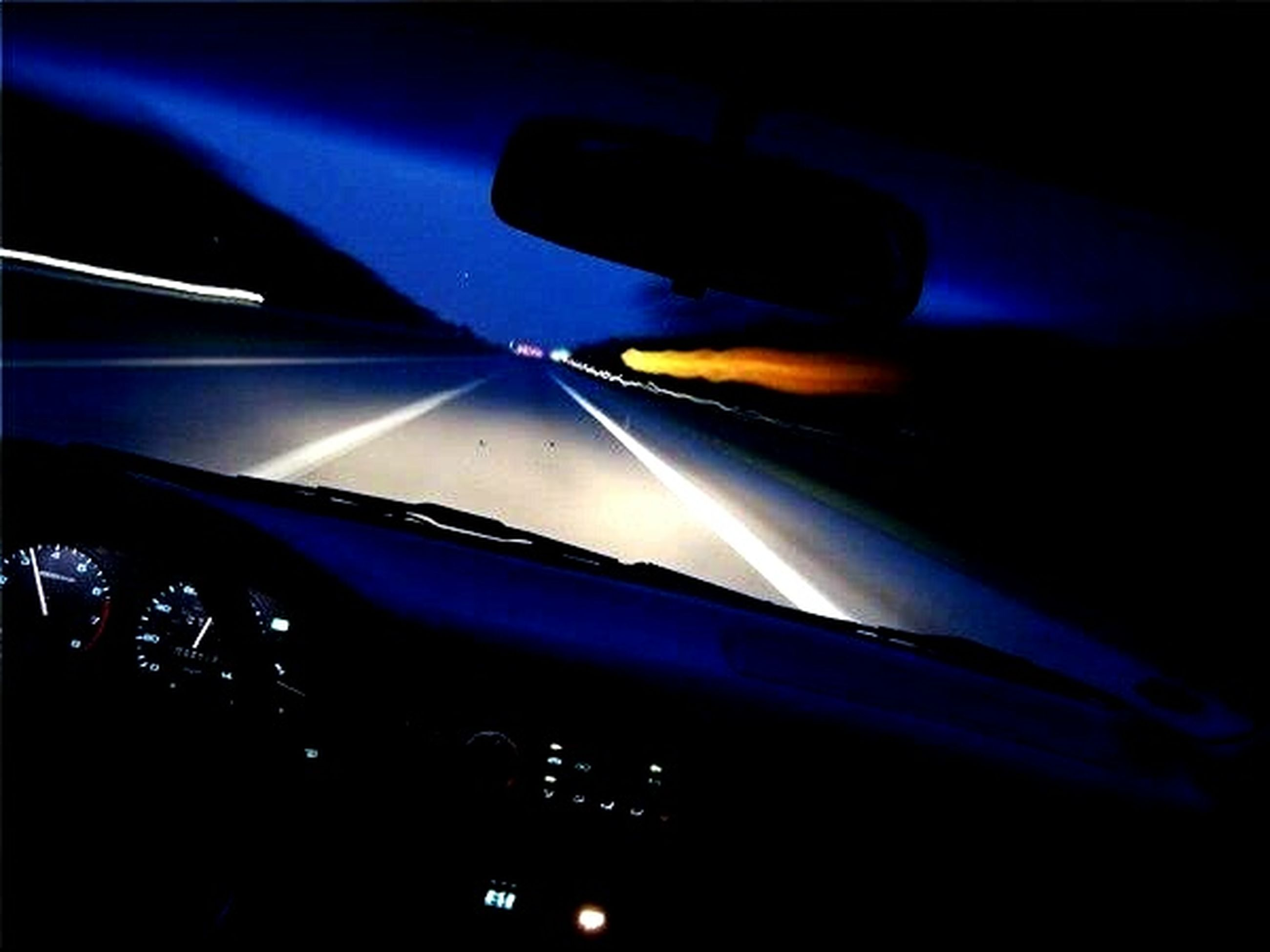 illuminated, night, transportation, blue, multi colored, abstract, lighting equipment, mode of transport, light - natural phenomenon, no people, long exposure, glowing, motion, pattern, speed, car, blurred motion, indoors, low angle view, close-up