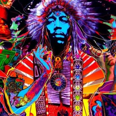 The man himself !!!!!! Jimi Hendrix