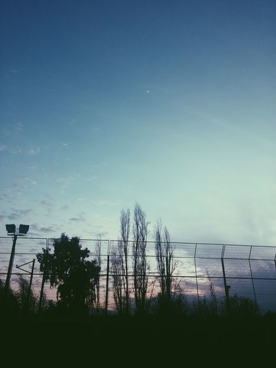 School Chile Moon Blue Sun