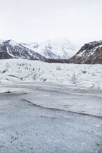 Earth Ice Iceland Winter Glacier Iceberg Landscape Mountain Snow