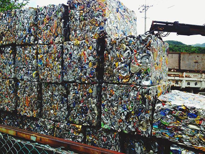空き缶 ゴミ