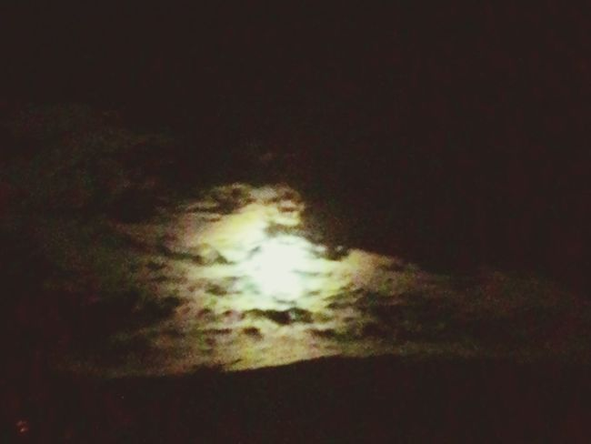 The Moon ☁🌝☁ Yesterday