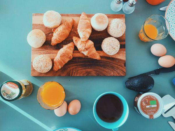 Breakfast was a feast! Goodmorning Breakfast Enjoying Life Croissant Waking Up Morning Rituals Starting The Day Time For Breakfast  Breakfast Time With The Huffington Post