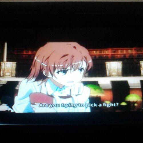 Railgun S. Haha! :) OtakuBeh