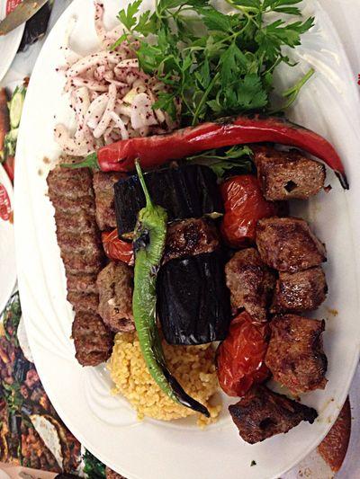 Turkish kebap Enjoy A Meal