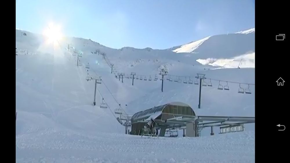 Mt Hutt NZ Mountain Winter