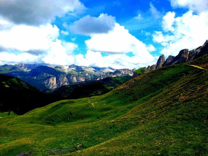 Dolomites, Italy Motorbike Trip Sky Nature