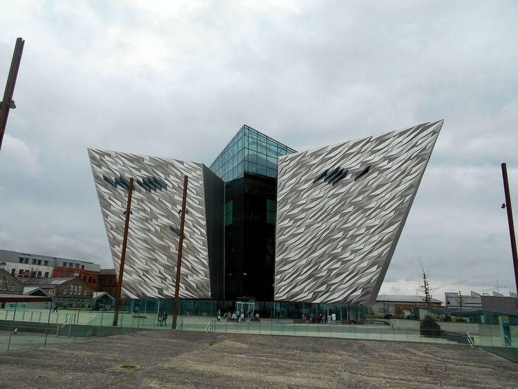 Built Structure Architecture Sky Day No People Outdoors EyeEmNewHere Your Ticket To Europe The Week On EyeEm Northireland Großbritannien Nordirland Belfast Titanic Museum