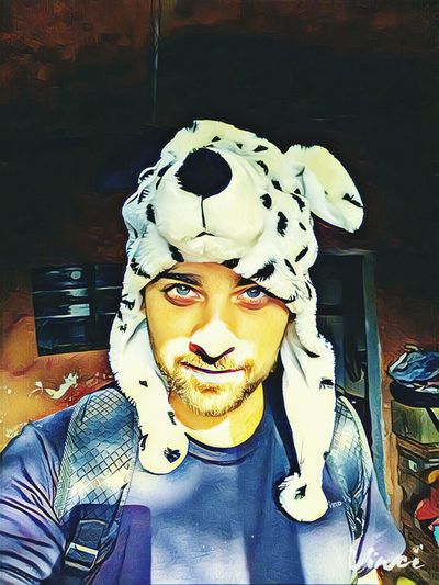 Me Dog Hat Dalmata Artistic Filter