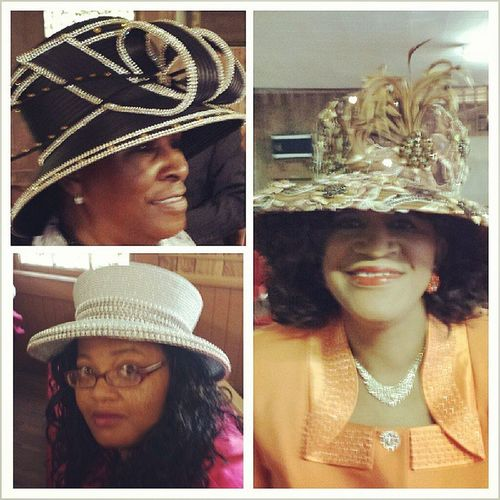 This year's StMark Church Homecoming Best Hat contest might be a good one! Fashion
