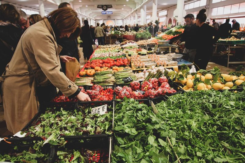 Food And Drink Retail  Food Market Vegetable Real People Choice