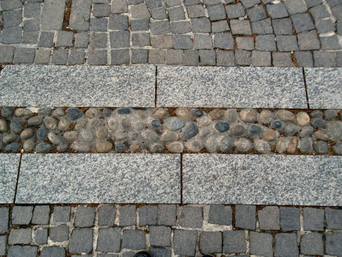 Small Stone Rounded By The Flow Of Water Backgrounds Cobblestone Day Footpath Full Frame High Angle View In A Row No People Outdoors Pattern Pavement Paving Stone Point Of View Sampietrini Sampietrino Romano Sidewalk Stones Street Texture Textured  Showcase April Textures And Surfaces The Way Forward