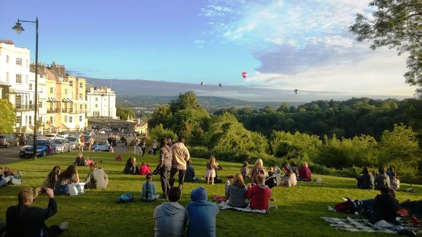 Adult Adults Only Architecture Baloon Festival Baloons Bristol Crowd Day Grass Large Group Of People Leisure Activity Men Mixed Age Range Nature Outdoors People Real People Sky Sunlight Tree Watching Women