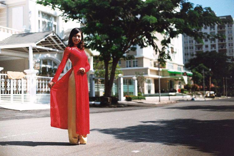 Ao Dai Ao Dai Vietnam Aodai AodaiVietNam ❤️ Girl Tradition Traditional Traditional Clothing Traditional Costume Vietnam Vietnamese Traditional Clothes Vietnamesegirl áo Dài ❤