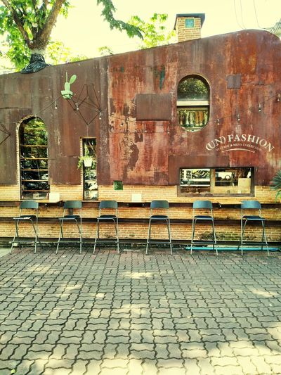 Postcode Postcards Outdoors No People Day Architecture Building Exterior Brown Color Vintage Style unfashion Coffee And Sweets Warm Day First Eyeem Photo