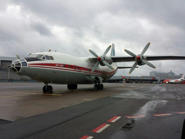 Airport Plane Airplane Rainy Days Apron Work Wiew