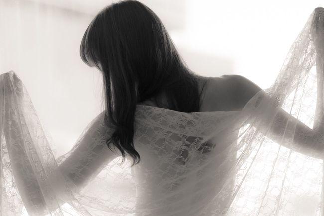 Light And Shadow Photorhythm Blackandwhite Lace