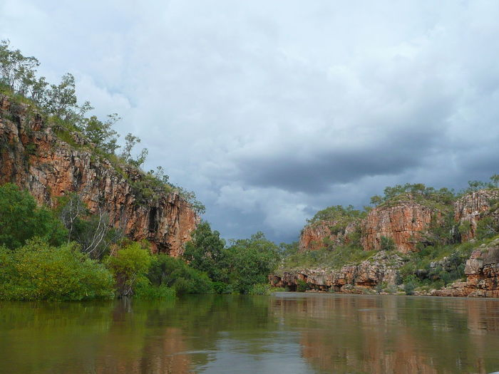 Beautiful Nature Katherine Gorge Katherine NT Australia Nitmiluk National Park Beauty In Nature Beauty In Nature Cliff Day Mountain Nature Nitmiluk No People Outdoors Sauvage Scenics Sky Tree Water