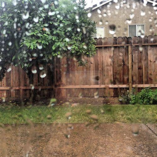 Thunder and heavy rain. Yes please. :)