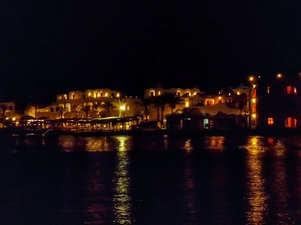 Night Photography Night View Arabian Architecture Living By The Sea Warm Colours Night Illuminated Reflection Architecture Building Exterior Outdoors Travel Destinations Cityscape Water Built Structure No People Hurghada, Egypt