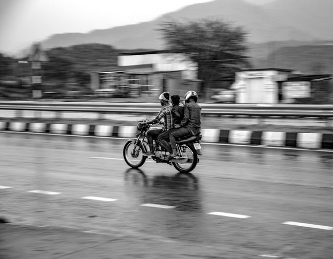 From My Point Of View People Photography Black & White Traveling Speedway Highway Tripling Fresh 3 Landscape Rainy Day