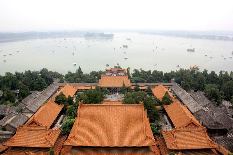 China Beauty China Photos Architecture Building Exterior Built Structure China High Angle View Roof