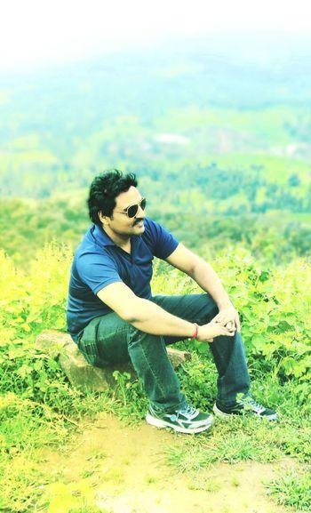 Mountains Portrait