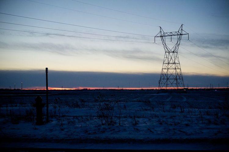 2-12-16 Connection Development Dusk Engineering Environmental Conservation Fargo Fargo Frost Lakeshore Light North Dakota Outdoors Reflection Rippled Riverbank Sky South Fargo Standing Water Sunset Technology The Great Outdoors - 2016 EyeEm Awards