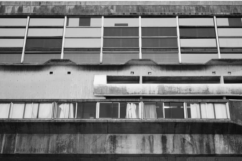 Black & White Buenos Aires, Argentina  Architecture Black And White Black And White Photography Blackandwhite Blackandwhite Photography Brutalism Brutalismo Building Exterior Built Structure Cement Day Hormigón Low Angle View No People Outdoors Window