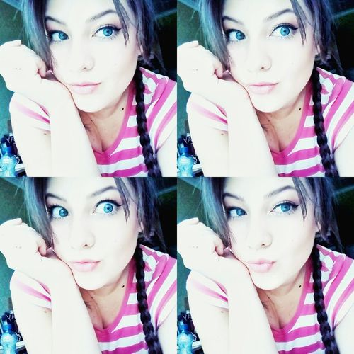 Girl Ukrainian Girl Eyes Blue Eyes or Grey Eyes Selfie ✌ Blablabla