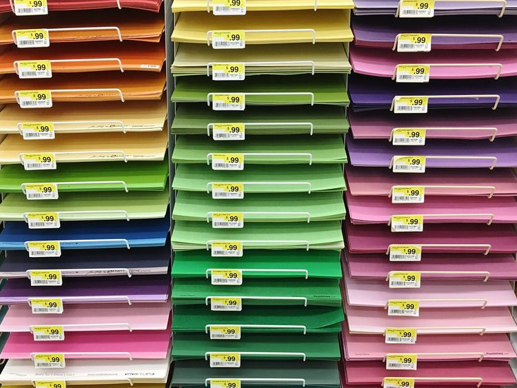Beautifully Organized Paper View Paper Art Paper Artist Art Is Everywhere