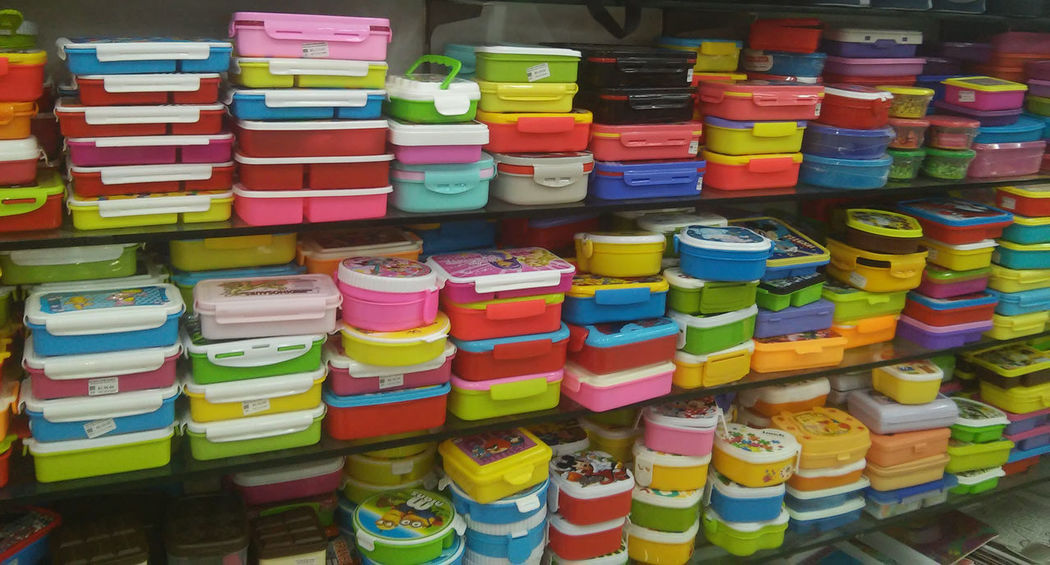 All Colours  All In One  Colours Of Nature Plastic Bag PLASTIC CONTAINER Rows Of Things Shopping Shopping Mall