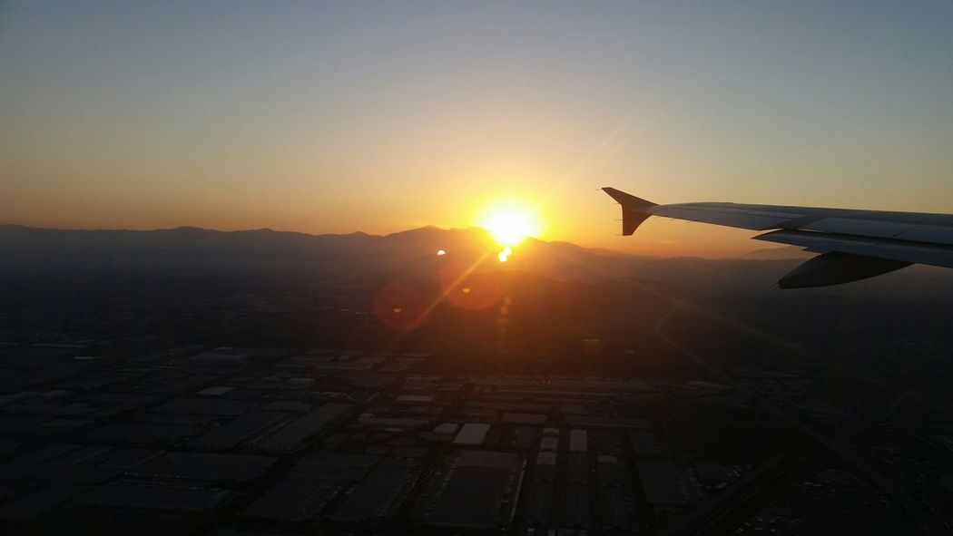 Soaring with the sunrise.. (no edit) The Purist (no Edit, No Filter) EyeEm Best Shots - No Edit Flying Away California Sunrise Up Up And Away Gotta have a window seat!!😉✈