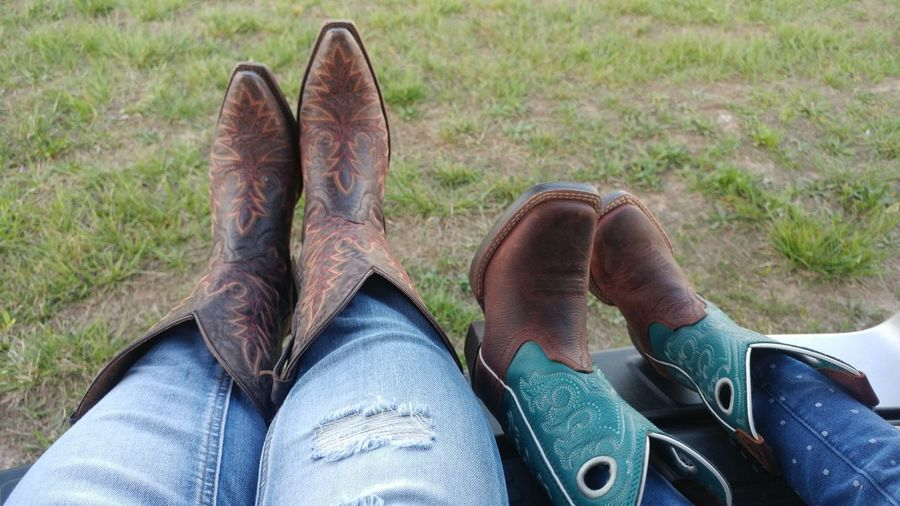 Mommy and Daughter time. Boots N Jeans Gal💝 Boots Women's Boots Kids Boots Country Life Ariatboots Ariat Boots #cowgirl Boots # Country Girl #i Love My Boots Shoe Personal Perspective Human Body Part Human Foot Lifestyles Jeans Cowboy Boots Country Life Mother Daughter