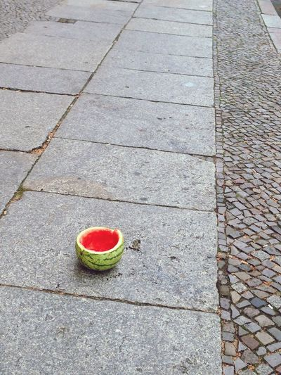Watermelon Crime Scene Fruit Street