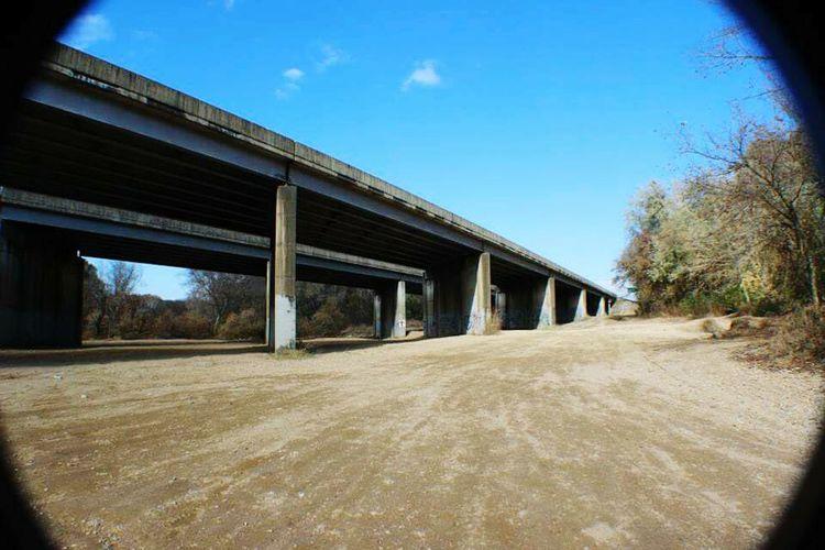 Under the Bridgeporn Saline River Arkansas Benton, Arkansas Escaping I-30