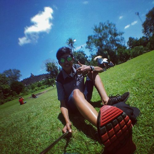 Holiday Hantuw Keren BorobudurTemple Instafashion Instamoment