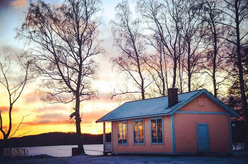 Sweden Gränna örserum House sunset First Eyeem Photo EyeEmNewHere