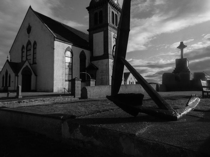 Church EyeEm Best Shots EyeEm Gallery EyeEmBestPics EyeEmNewHere Scotland Anker Architecture Blackandwhite Building Exterior Built Structure Keltic Cross Mcduff No People Religious Architecture Spirituality Perspectives On Nature Black And White Friday Go Higher The Still Life Photographer - 2018 EyeEm Awards My Best Travel Photo
