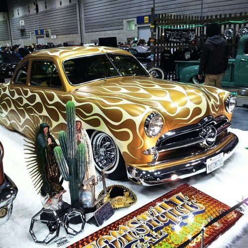 Yokohama hotrod custom show 2012 !!! Kustomstyle !!! Hotrodcar HotRod Ford 49ford