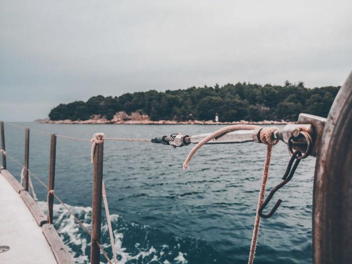 Cloudy sea ride