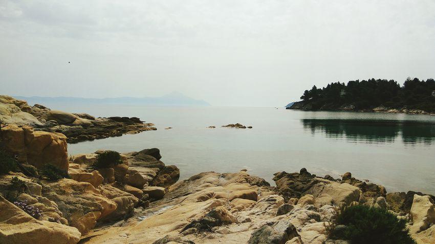 Beautiful horizont in Vourvourou. Beach Water Horizon Over Water Beauty In Nature Sea First Eyeem Photo
