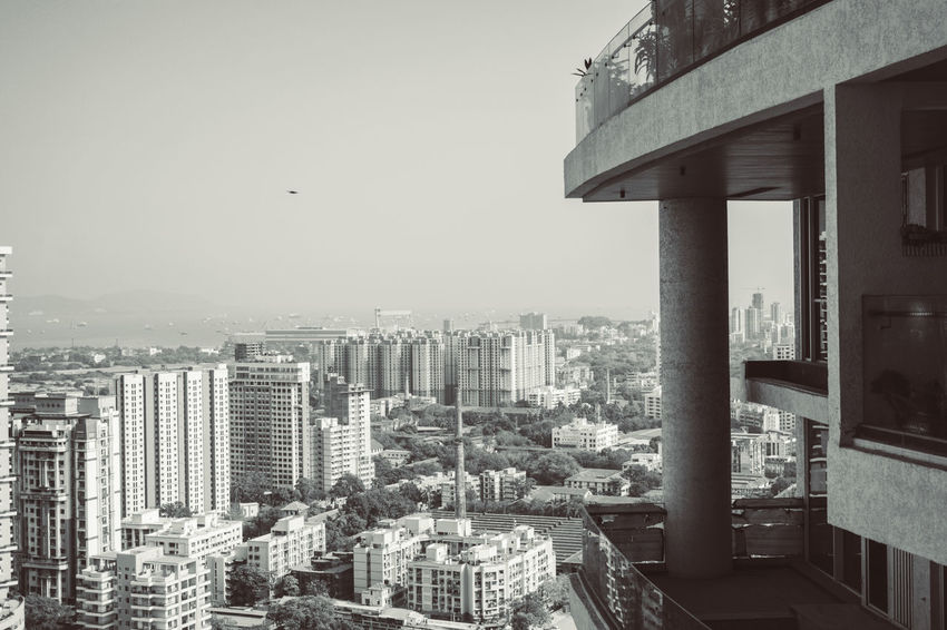 City from the top Balcony View Black & White Bombay City Climb Up Mumbai Travel Architecture Blackandwhite Blackandwhite Photography Building Building Exterior Built Structure City City Life Cityscape Clear Sky Luxury Lifestyle Luxury Living Monochrome Outdoors Residential District Sky Skyscraper Tall - High Tower